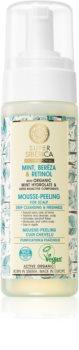 Natura Siberica Mint, Bereza & Retinol Schuim Peeling  voor Hoofdhuid