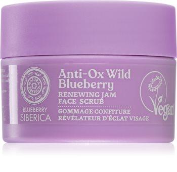 Natura Siberica Anti-Ox Wild Blueberry erneuerndes Peeling für das Gesicht
