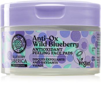 Natura Siberica Anti-Ox Wild Blueberry Peeling-Pads für das Gesicht