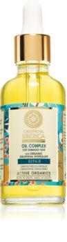 Natura Siberica Oblepikha (Sea-Buckthorn) olej pro péči o poškozené vlasy