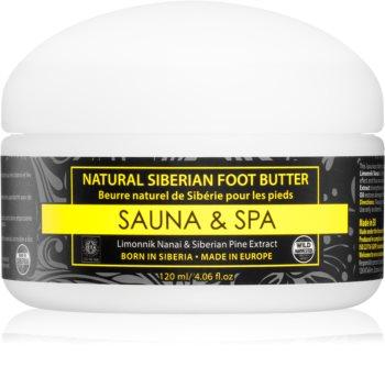 Natura Siberica Sauna and Spa maslac za stopala