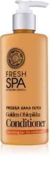 Natura Siberica Fresh Spa Golden Oblepikha Conditioner voor Droog en Beschadigd Haar