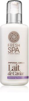 Natura Siberica Fresh Spa Imperial Caviar latte detergente viso con caviale