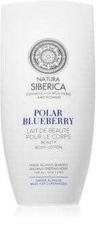 Natura Siberica Copenhagen Polar Blueberry pečující tělové mléko