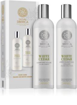 Natura Siberica Copenhagen White Cedar Kosmetik-Set  (für Flexibilität und Volumen)