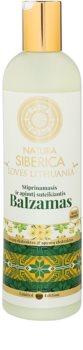Natura Siberica Loves Lithuania balsam fortifiant pentru păr