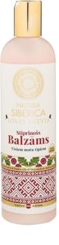 Natura Siberica Loves Latvia balsamo rinforzante per capelli