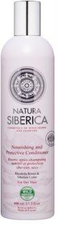 Natura Siberica Natural & Organic condicionador nutritivo para cabelo seco