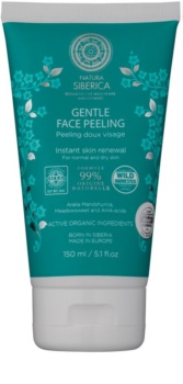Natura Siberica Natural & Organic sanftes Peeling für normale und trockene Haut