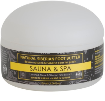 Natura Siberica Sauna and Spa máslo na nohy