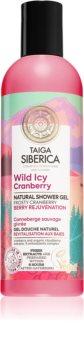 Natura Siberica Taiga Siberica Wild Icy Cranberry přírodní sprchový gel