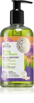 Natura Siberica Taiga Siberica Spring Taiga Bloom flüssige Seife für die Hände mit feuchtigkeitsspendender Wirkung
