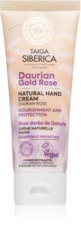 Natura Siberica Taiga Siberica Daurian Gold Rose vyživující krém na ruce
