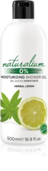 Naturalium Fruit Pleasure Herbal Lemon hydratační sprchový gel