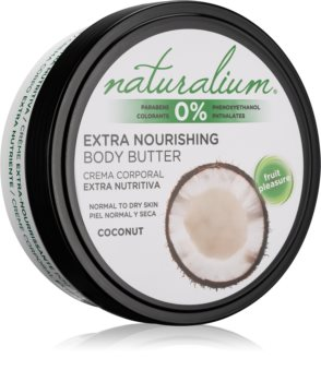 Naturalium Fruit Pleasure Coconut burro nutriente corpo