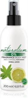 Naturalium Fruit Pleasure Herbal Lemon освежаващ спрей за тяло