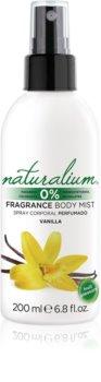 Naturalium Fruit Pleasure Vanilla освежаващ спрей за тяло