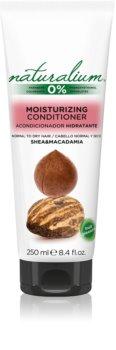 Naturalium Nuts Shea and Macadamia feuchtigkeitsspendender und glättender Conditioner Für normales bis trockenes Haar