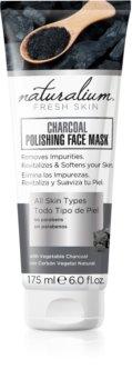 Naturalium Fresh Skin Charcoal čistiaca a rozjasňujúca pleťová maska