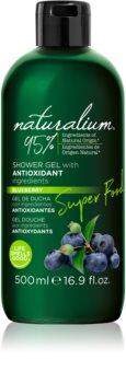 Naturalium Super Food Blueberry energetski gel za tuširanje