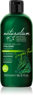 Naturalium Super Food Seaweed energetizáló tusfürdő gél