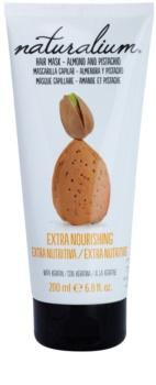Naturalium Nuts Almond and Pistachio výživná maska s keratinem