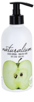 Naturalium Fruit Pleasure Green Apple leite corporal nutritivo