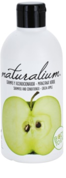 Naturalium Fruit Pleasure Green Apple šampón a kondicionér