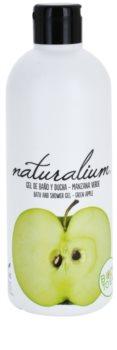Naturalium Fruit Pleasure Green Apple gel de banho nutritivo