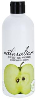 Naturalium Fruit Pleasure Green Apple gel de ducha nutritivo