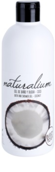 Naturalium Fruit Pleasure Coconut gel de ducha nutritivo