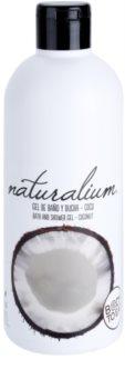 Naturalium Fruit Pleasure Coconut gel de dus hranitor