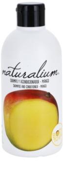 Naturalium Fruit Pleasure Mango champú y acondicionador
