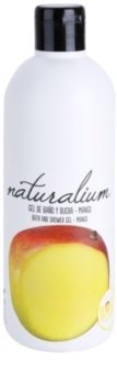 Naturalium Fruit Pleasure Mango gel de banho nutritivo
