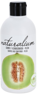 Naturalium Fruit Pleasure Melon Shampoo And Conditioner