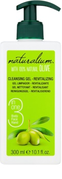 Naturalium Olive gel nettoyant revitalisant visage et corps