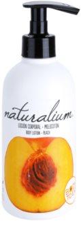 Naturalium Fruit Pleasure Peach latte nutriente corpo