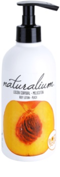 Naturalium Fruit Pleasure Peach подхранващ лосион за тяло