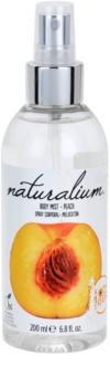 Naturalium Fruit Pleasure Peach Opfriskende kropsspray
