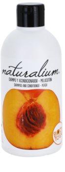 Naturalium Fruit Pleasure Peach champô e condicionador