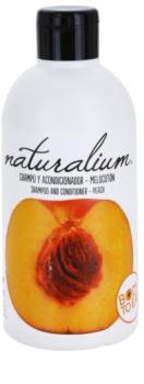 Naturalium Fruit Pleasure Peach shampoing et après-shampoing