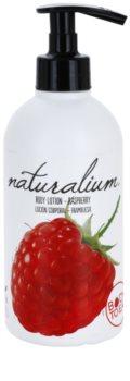 Naturalium Fruit Pleasure Raspberry lait corporel nourrissant