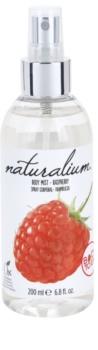 Naturalium Fruit Pleasure Raspberry osvježavajući sprej za tijelo