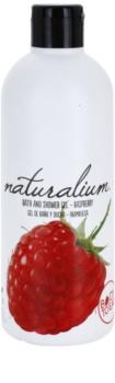 Naturalium Fruit Pleasure Raspberry θρεπτικό τζελ για ντους