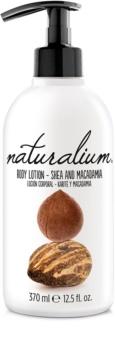 Naturalium Nuts Shea and Macadamia regeneráló testápoló tej