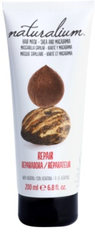Naturalium Nuts Shea and Macadamia αναγεννητική μάσκα με κερατίνη