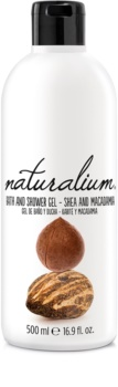 Naturalium Nuts Shea and Macadamia regeneráló tusfürdő gél
