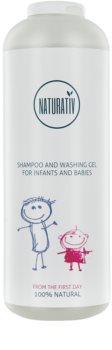 Naturativ Baby champú y gel de baño 2 en 1 para bebé lactante