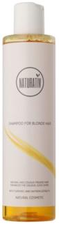Naturativ Hair Care Blond champô para realçar a cor e o brilho do cabelo