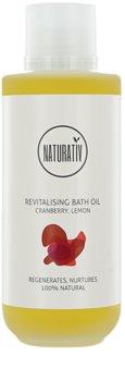 Naturativ Body Care Revitalising óleo de banho com efeito hidratante